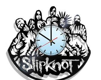 Wall clock with original design Slipknot