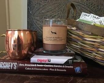13 oz. Soy Candle in Chocolate & Hazelnut