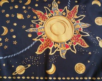 GIANNI VERSACE - Silk scarf  authentic , original , vintage