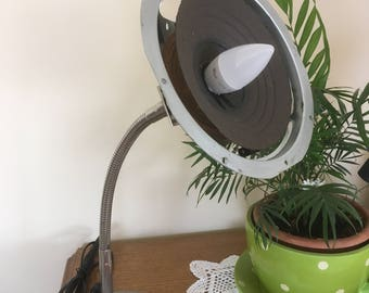 Speaker Table Lamp - Industrial look!