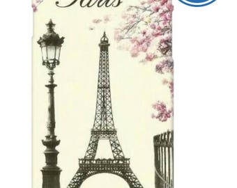 Paris Eiffel tower in the spring phone case