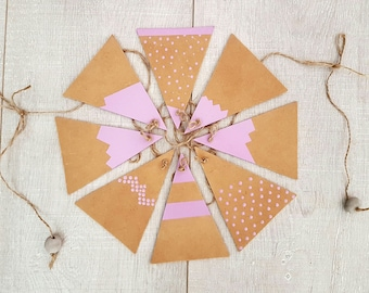 Mountain Wooden Bunting