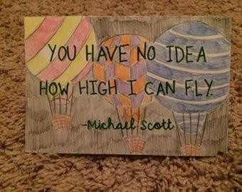 Michael Scott Quote Wall Art