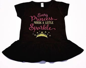 Every princess needs a little sparkle shirt