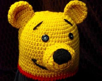 Yellow bear beannie
