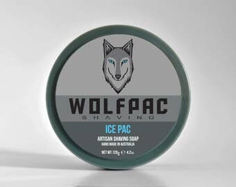 Wolfpac Shaving Ice Pac Shaving Soap