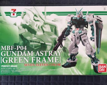 Limited Edition PG 1/60 Gundam Astray Green Frame (Seven-Eleven color)