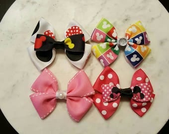 Minnie & Mickey Mouse Bows