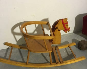 Rocking horse rocking horse is 60 he years 60's