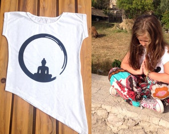 Custom design t-shirt - buddha t-shirt - yoga t-shirt