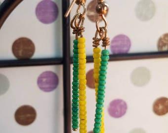 Pineapple (Handmade Earrings)