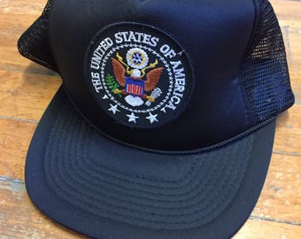 The United States of America Trucker Hat