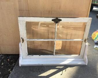 Vintage window decoration