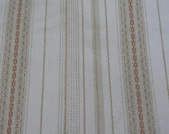 Vintage Drapery or Upholstery Fabric - Fully Lined