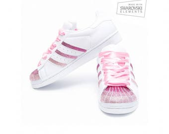 Adidas Superstar Swarovski Pink