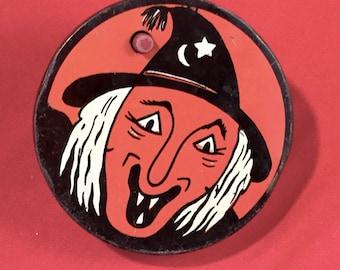 Vintage Halloween Kirchhof Tin Noise Maker