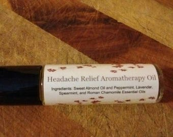 Headache Relief Aromatherapy Roll-On Oil