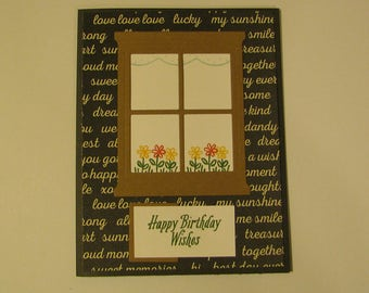 5 assorted birthday cards 4 1/4 by 5 1/2 with envelop.