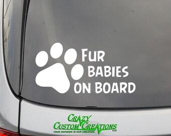 Fur Babies On Board