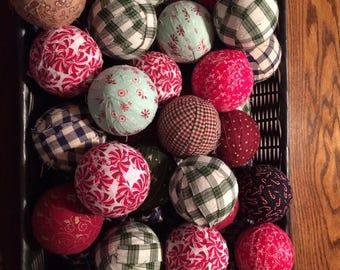 "3"" rag balls- assortment of 5"