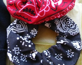 Old School Scrunchies