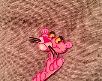 Pink Panther Shrink Plastic Pin