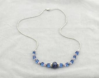 Blue Pandora Necklace