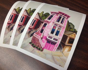 Contemporary art, architecture, giclee print, archival print, fine art print