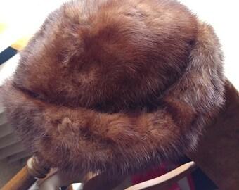 Vintage Mink fur hat