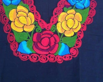Mexican Embroidered blouse size XXL