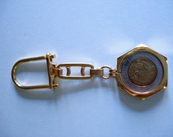 500 lira Republic of San Marino 1994 coin keyring fob