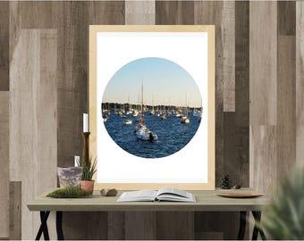 digital print, print, instant download, digital download, boats, New England, Rhode Island, landscape, Photography