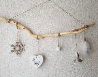 Driftwood hanging decoration