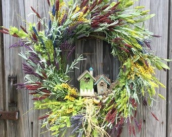 Natural Grapevine Wreath