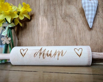 Personalised Heart Rolling Pin