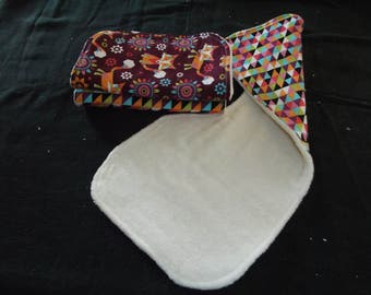 Baby Burp Cloth set of 3
