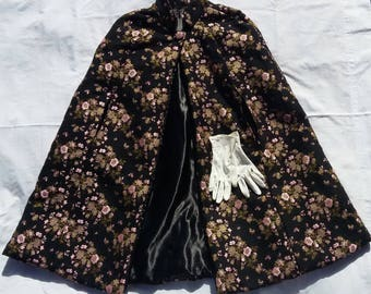 1970s vintage winter cloak : Grace