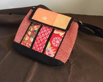 Vintage Kimono & Obi Shoulder Bag