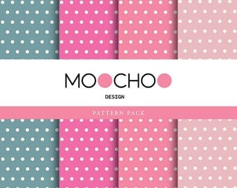 Spring Dots Pattern Pack