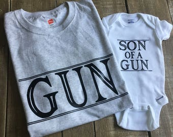 "Father & Son Set-""Son of a Gun