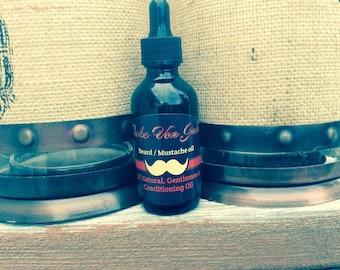 Duke Von Jake, Beard and Mustache Conditioning Oil