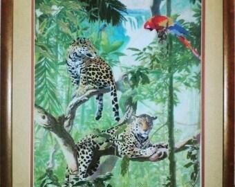 """Handmade embroidery """"Jaguars"""""""