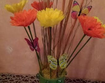 Vase Spring Green Fantasy