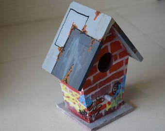 Graffiti Birdhouse#2