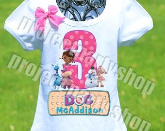 Doc McStuffins Birthday Shirt