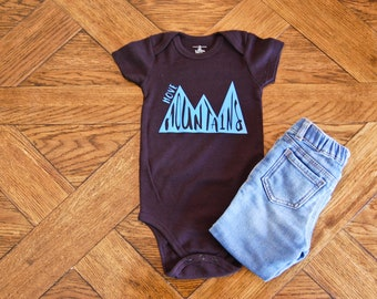 Move Mountains Onesie