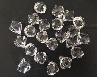 Large crystal gems