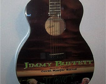 Jimmy Buffett - Autographed Guitar