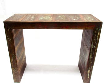 Balcony / Bar Table - Eco-friendly 100% reclaimed solid wood