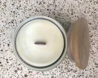 Blood Orange & Teakwood - Essential oil Soy Candle